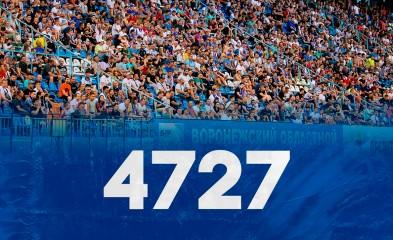 новость 4727 зрителей на матче!