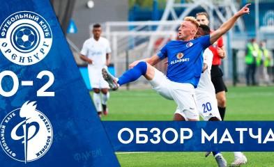 видео Видеообзор матча с «Оренбургом»
