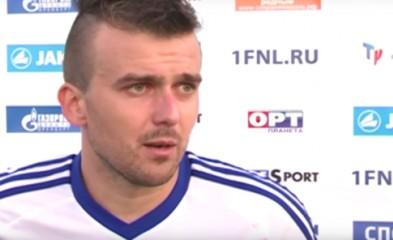 видео «Факел»-«КАМАЗ»: интервью футболиста